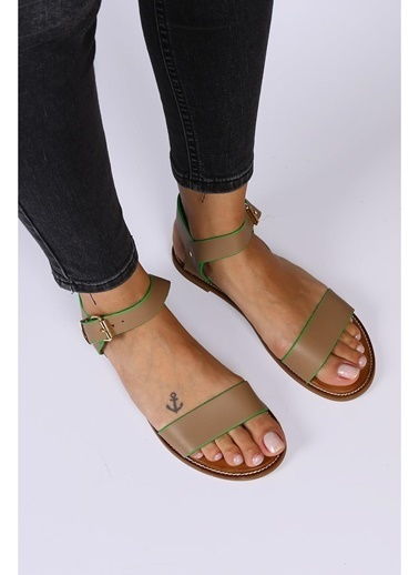 Female Project Outdoor Sandalet Vizon